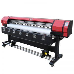 6 фут Басып шығару Бейне WER-ES1901 DX5 / DX7 head eco solvent printer Гуанчжоуда Жабдықтаушыда