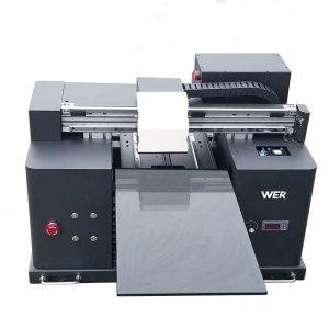 A4 өлшемді цифрлы DTG принтері T-shirt баспа машинасын WER-E1080T сатуға арналған