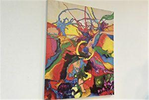 A1 өлшемді принтермен басып шығарылған Canvas үлгісі WER-EP6090UV