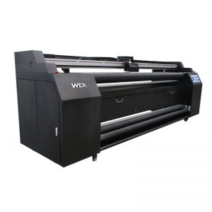 WER-E1802T 1.8m direct to textile printer with 2*DX5 sublimation printer