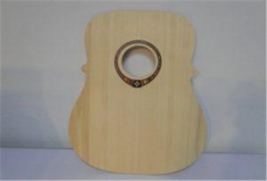 A2 өлшемді UV-принтерінен ағаш гитарасының үлгісі WER-DD4290UV