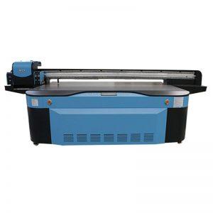 толық түсті CMYK LCLM ақ түсті лак УК-беткі принтер 3D WER-G2513UV
